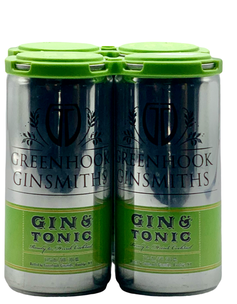 Greenhook Gin & Tonic 4 Pack