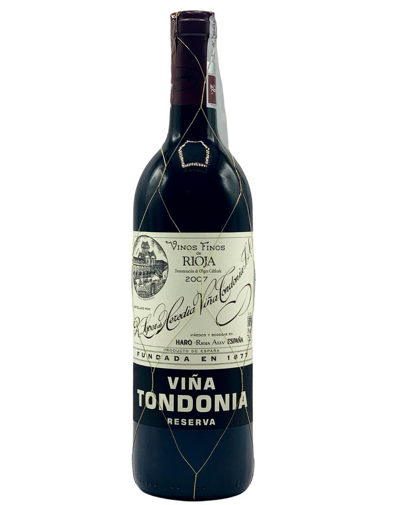 Lopez de Heredia Rioja Reserva Tinto Viña Tondonia 2007