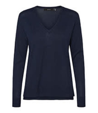 VERO MODA JENNIFER LS V-NECK BLOUSE