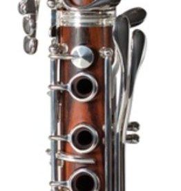 Backun Protege Bb Clarinet Cocobolo w/ Silver Keys