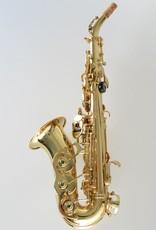 Temby Australia Curved Soprano Sax - Gold Lacquer