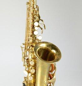 Temby Australia Bb Curved Soprano Saxophone Vintage Unlacquered