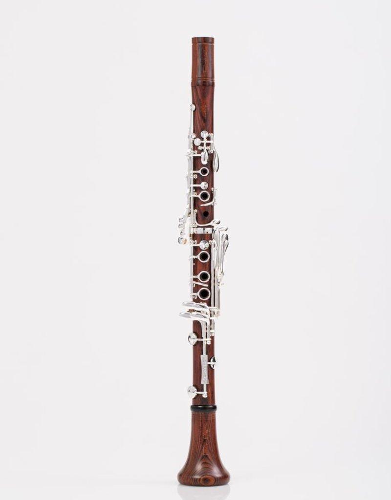 Backun Protege Bb Clarinet Cocobolo w/ Silver Keys & Eb Lever