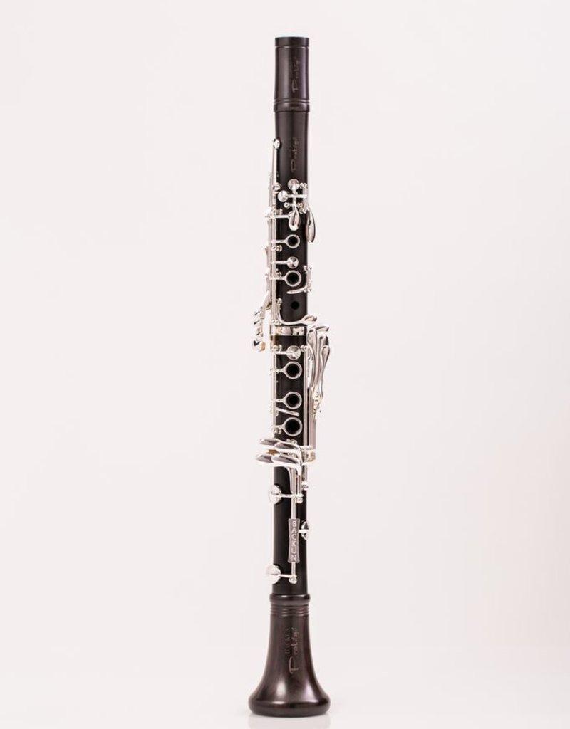 Backun Protege Bb Clarinet Grenadilla w/ Silver Keys & Eb Lever