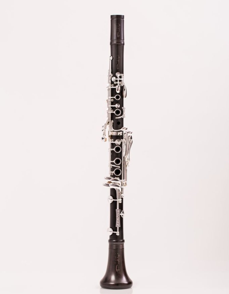 Backun Protege Bb Grenadilla Clarinet with Silver keywork and left hand Eb key