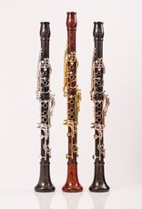 Backun Moba Bb Grenadilla clarinet with rose gold keywork