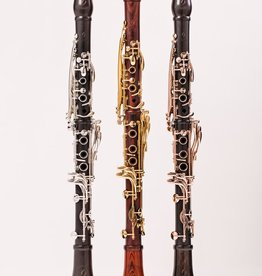 Backun MOBA Bb Clarinet Grenadilla w/ Rose Gold Keys & Posts