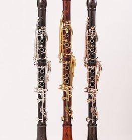 Backun Moba Bb Grenadilla clarinet with rose gold keywork