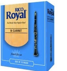 D'Addario Royal Bb Clarinet Box of 10 Reeds