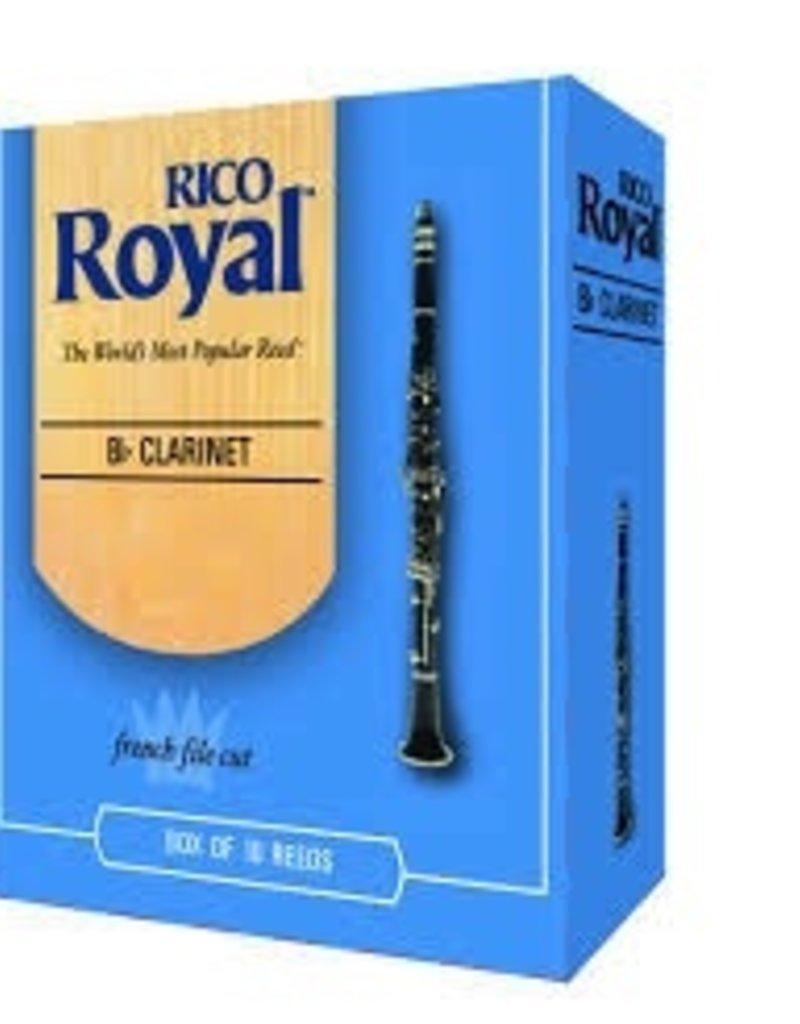 D'Addario Royal Bb Clarinet Box of 10 Reeds