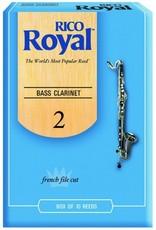 D'Addario Royal Bass Clarinet Reeds - Box of 10