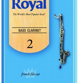 D'Addario Royal, by D'addario Bass Clarinet Box of 10 Reeds