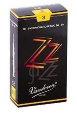 Vandoren ZZ Soprano Sax Reeds - Box of 10