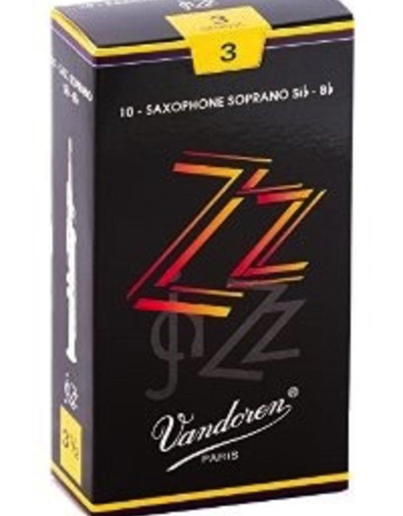 Vandoren Vandoren ZZ Soprano Sax Box of 10 Reeds