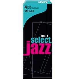 D'Addario Jazz Select Unfiled Baritone Sax Box of 5 Reeds