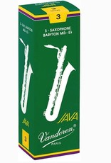Vandoren Java Green Baritone Sax Reeds - Box of 5