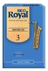 D'Addario Royal Baritone Sax Reeds - Box of 10