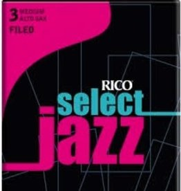 D'Addario Jazz Select Filed Alto Sax Box of 10 Reeds