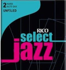 D'Addario Jazz Select Unfiled Alto Sax Box of 10 Reeds