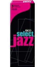 D'Addario Jazz Select Filed Tenor Sax Box of 5 Reeds