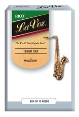 D'Addario La Voz Tenor Sax Reeds Box of 10