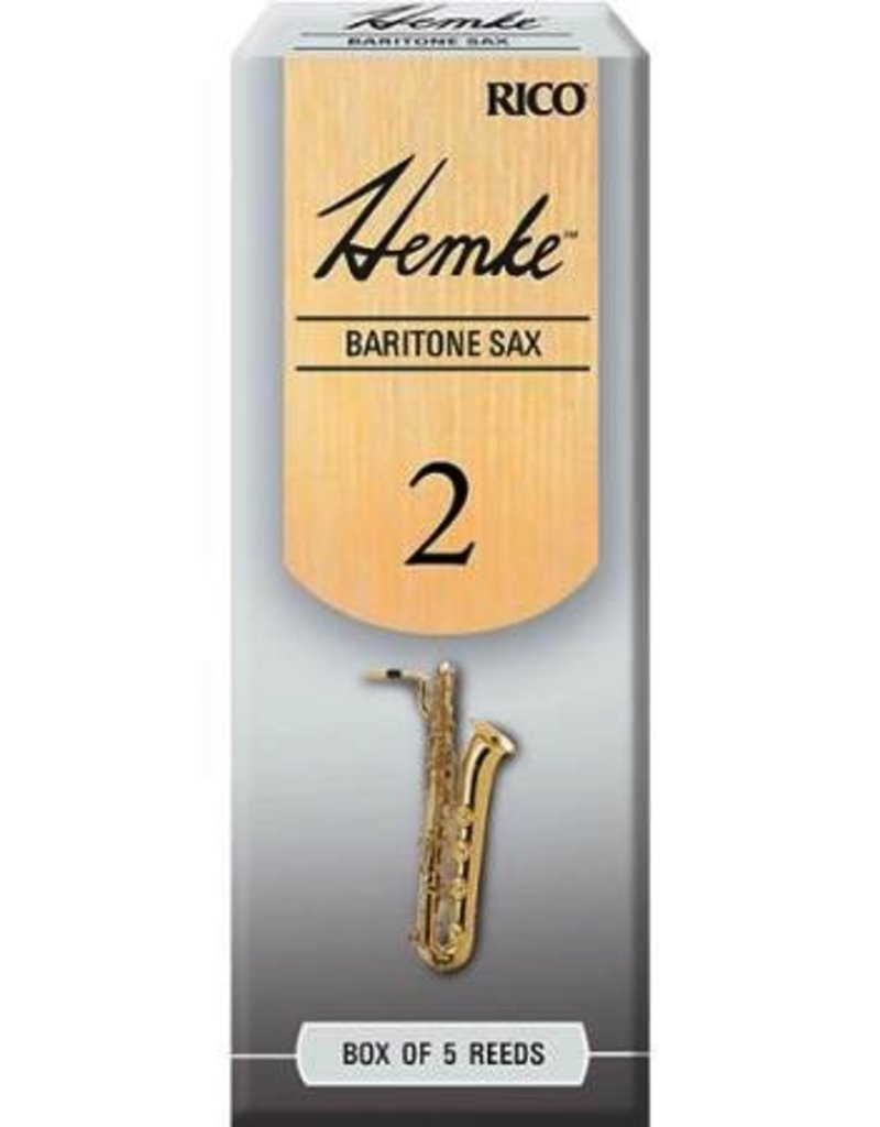 D'Addario Hemke Baritone Sax Reeds Box of 5