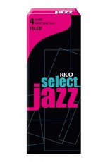 D'Addario Jazz Select Filed Baritone Sax Box of 5 Reeds