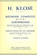 Klose Complete Method For Saxophone