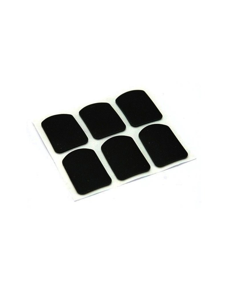 BG BG Teeth And Mouthpiece Saver, Pack Of 6, Black 8mm, small