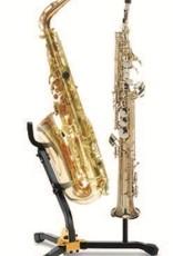 Hercules Saxophone Stand w/Soprano Peg - Alto/Tenor