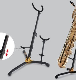 Hercules Baritone Saxophone Stand with Detachable Alto/Tenor Peg - DS536B