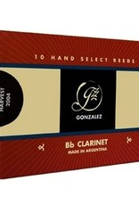 Gonzalez RC Bb Clarinet Reeds Box of 10