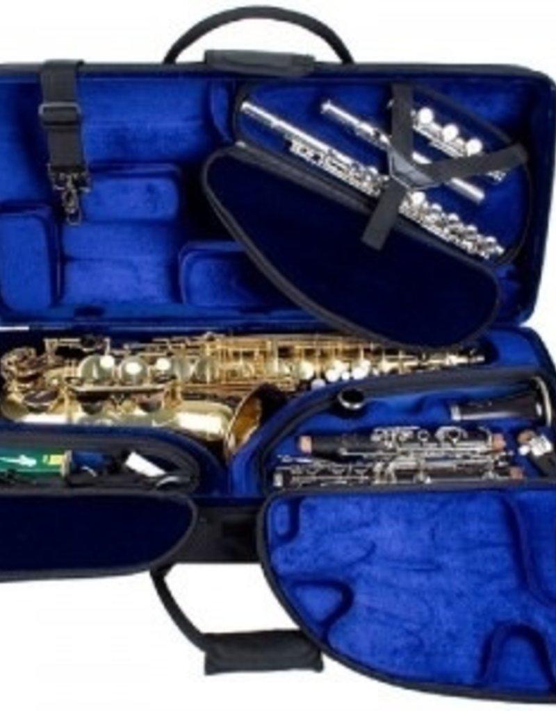 Protec Tri-Pac Case - Alto Sax, Clarinet & Flute