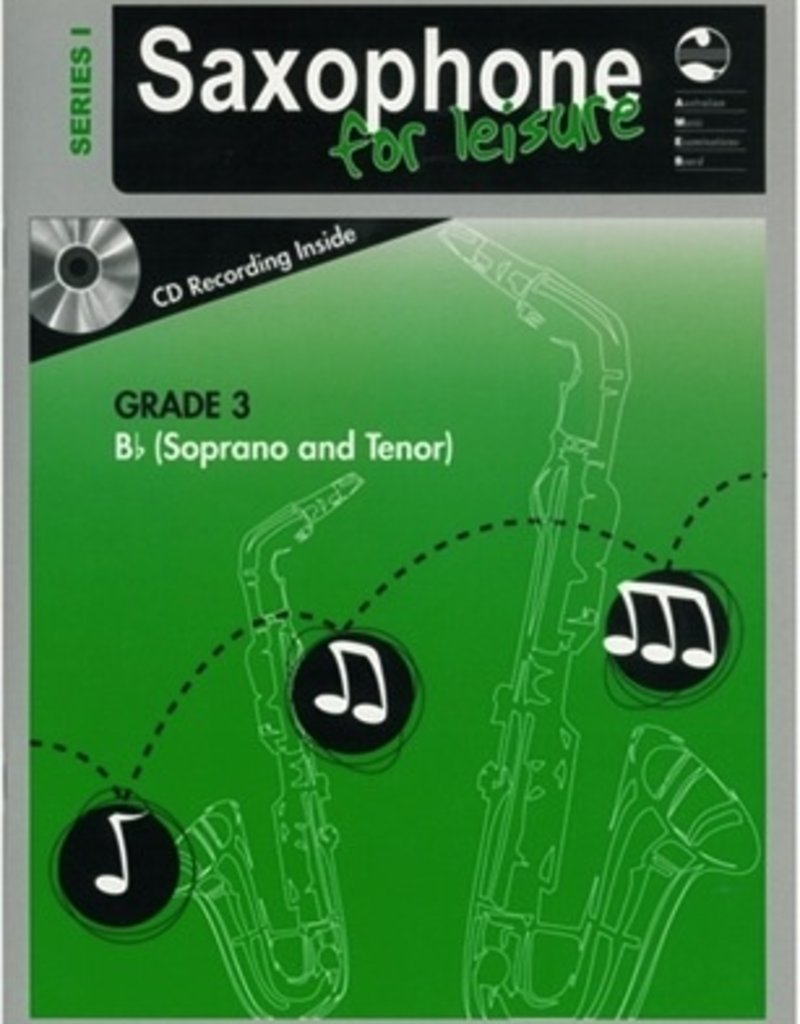 Hal Leonard AMEB Saxophone  for leisure music.