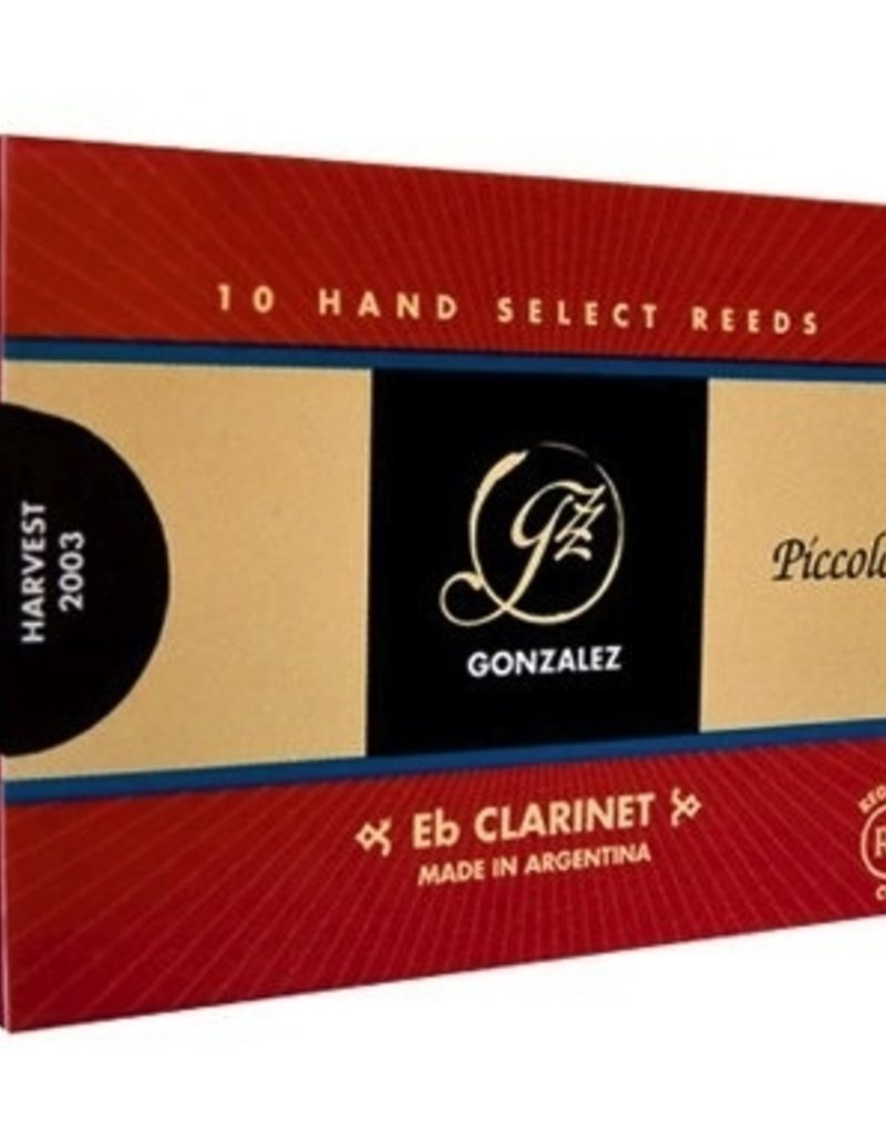 Gonzalez RC Eb Soprano Clarinet Reeds Box of 10