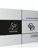 Gonzalez GD Bb Clarinet Reeds Box of 10