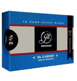 Gonzalez FOF Bb Clarinet Reeds Box of 10