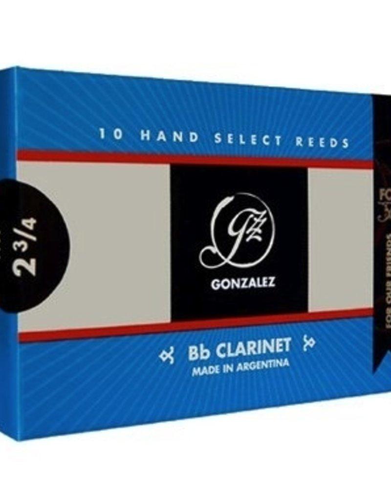 Gonzalez FOF Bb Clarinet Reeds Box of 10