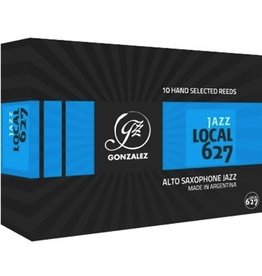 Gonzalez Jazz Local 627 Alto Sax Reeds Box of 10