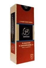 Gonzalez RC Baritone Sax Reeds Box of 5