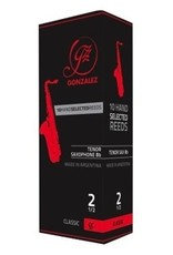 Gonzalez Classic Tenor Sax box of 5 Reeds