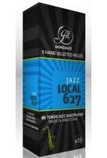 Gonzalez Local 627 Jazz Tenor Sax Box of 5 Reeds