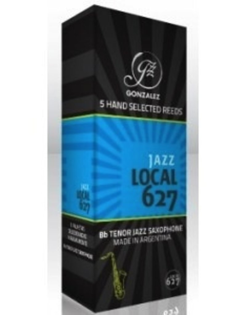 Gonzalez Local 627 Jazz Tenor Sax Box of 5 Reeds