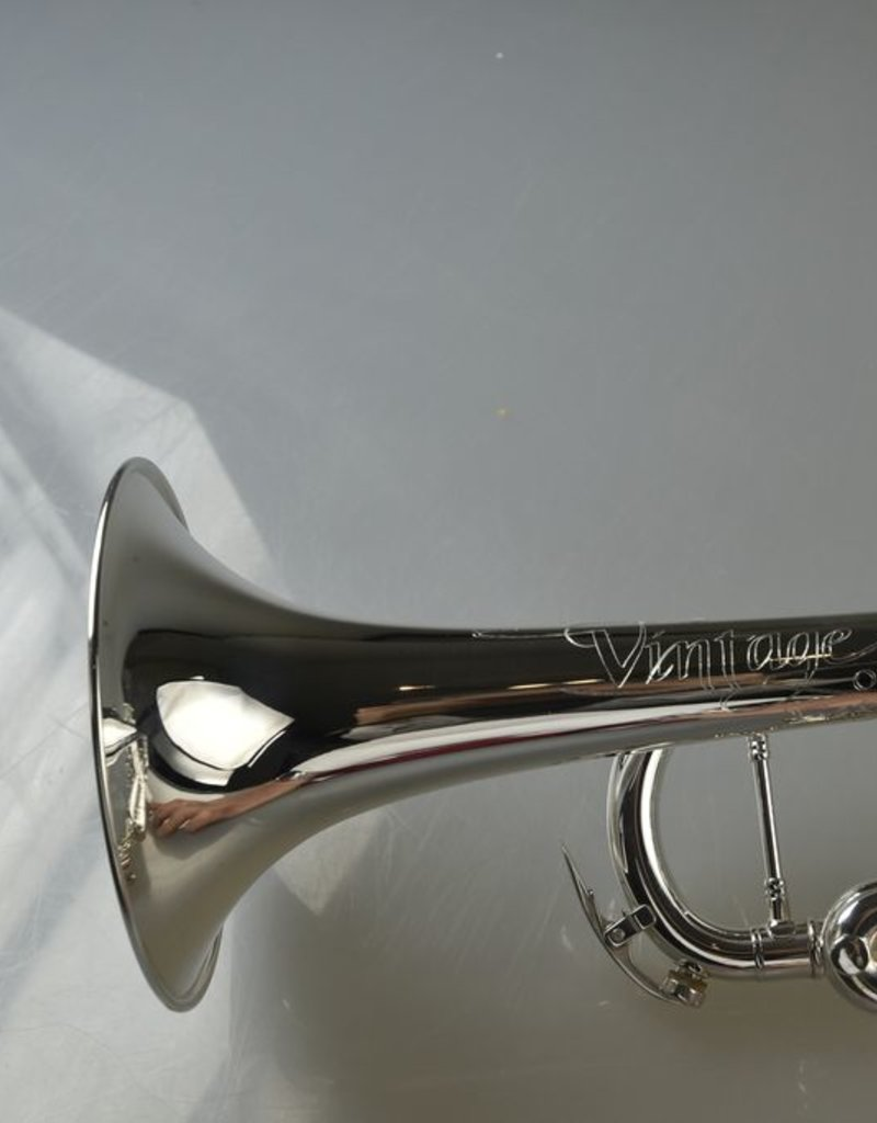 Conn Conn Vintage One Trumpet,Hand Hammered Yellow Brass Bell, 46 Lead pipe Silver plate
