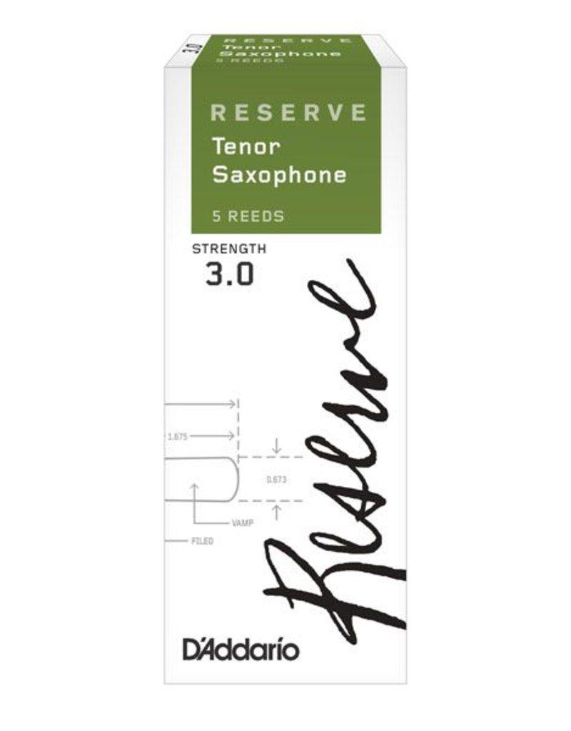 D'Addario Reserve Tenor Sax Box of 5 Reeds