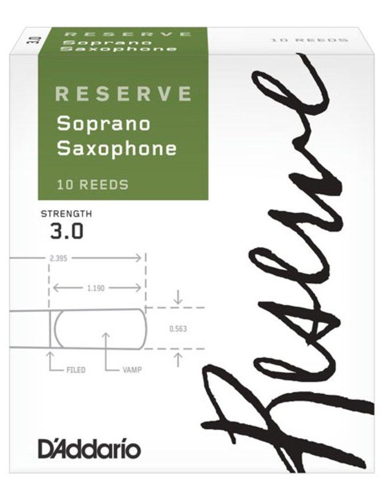 D'Addario Reserve Soprano Sax Box of 10 Reeds