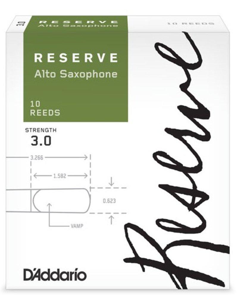 D'Addario Reserve Alto Sax Box of 10 Reeds