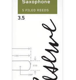 D'Addario Reserve Baritone Saxophone Reeds 5 Pack