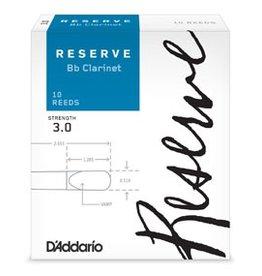 D'Addario Reserve Bb Clarinet Reeds