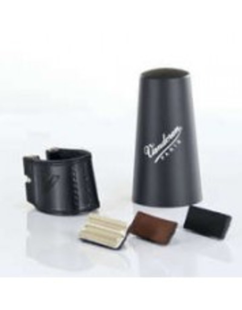 Vandoren Leather Ligature w/Plastic Cap